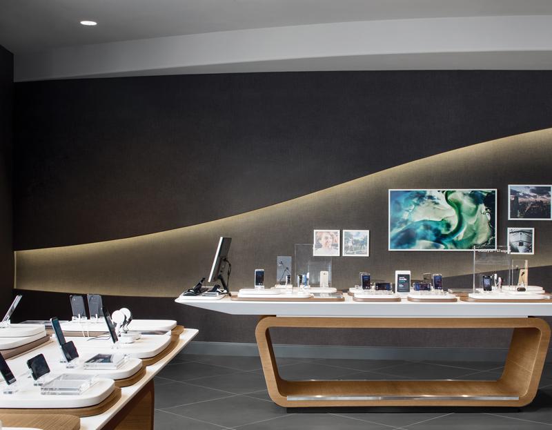 Samsung Experience Store, Quadralngle