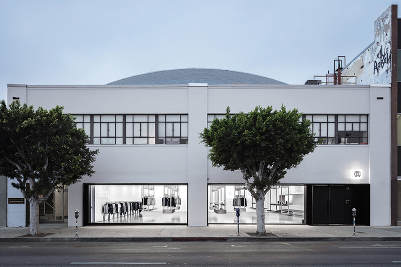 The Los Angeles Reigning Champ store on La Brea Avenue is the Vancouver-based company's first foray into the United States. Photo by Mike Kelly.