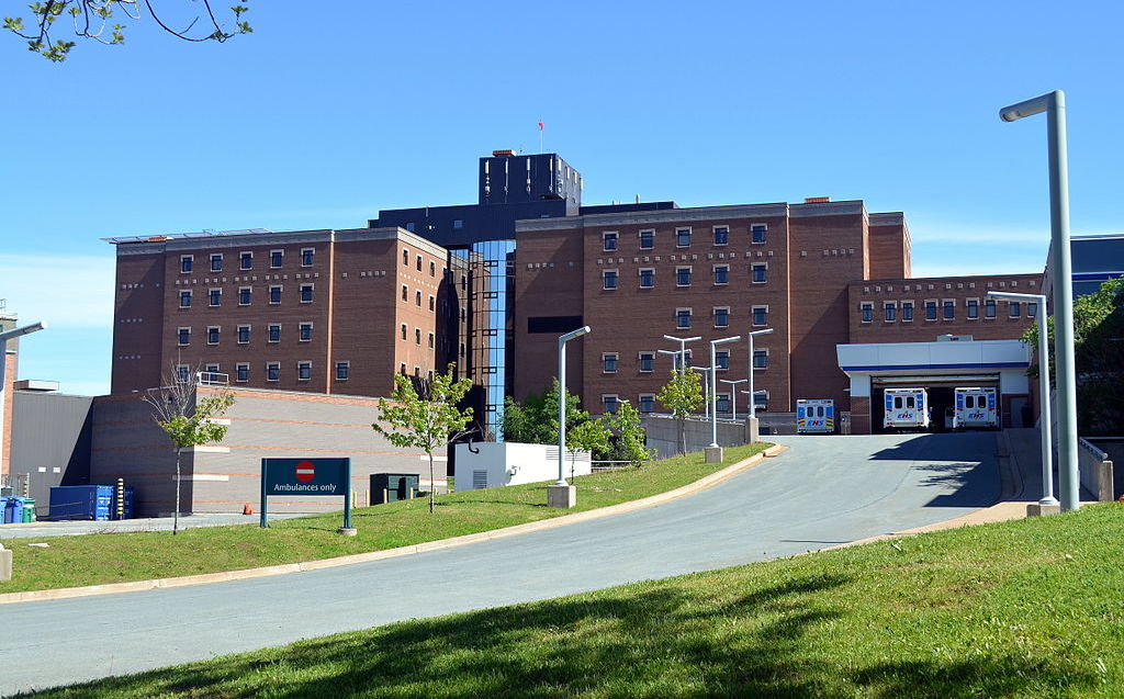 Halifax's existing QEII complex will be replaced by the new QEII Health Sciences Centre. Photo by Citobun via Wikimedia Commons.