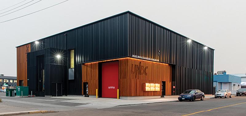 UNBC, Passive House, Wood Innovation Research Laboratory