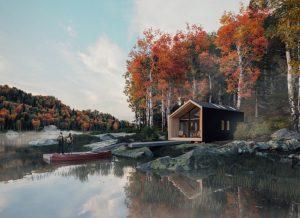 Leckie Studio, Backcountry Hut, IDS19