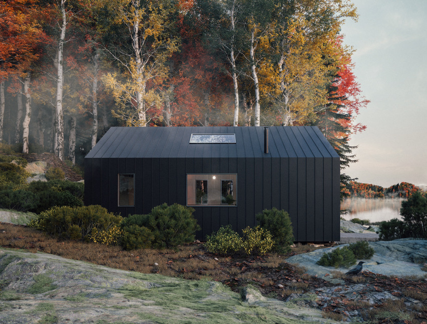 Leckie Studio, Backcountry Hut, IDS19