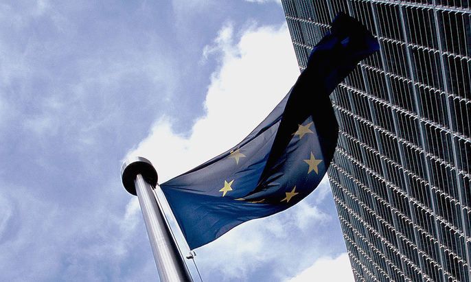 European_flag_outside_the_Commission1