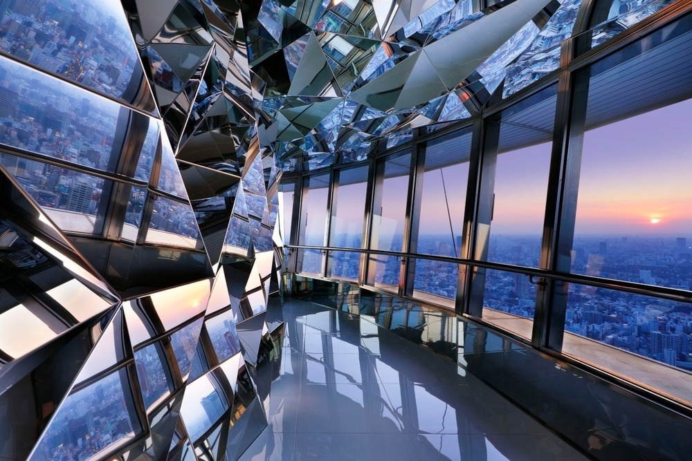 Tokyo Tower Top Deck by Kaz Shirane Studio Interior Design of the Year