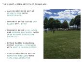 LAPT, Legacy Art Project, Terry Fox, Toronto