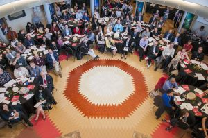 Attendees at the International Indigenous Architecture and Design Symposium. Image via RAIC.