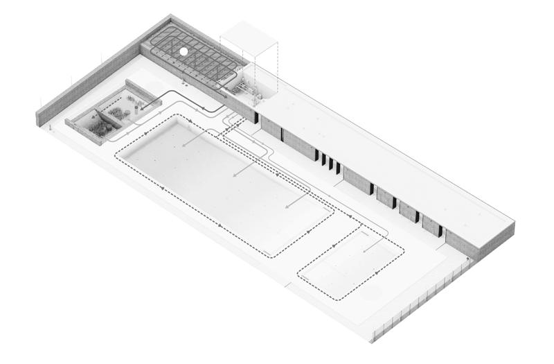 gh3 – Borden Park Natural Swimming Pool – Water Flow Diagram