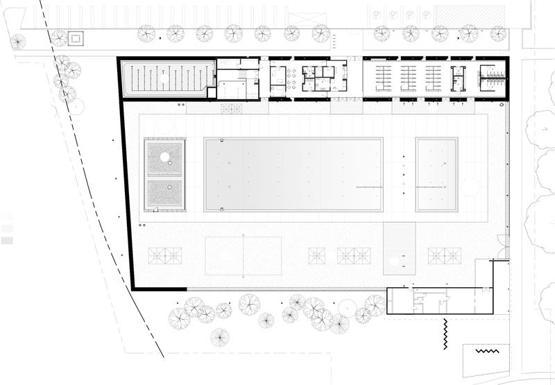 gh3 – Borden Park Natural Swimming Pool – Site Plan