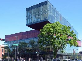 The Halifax Central Library plays a role in the SSAC discourse. Photo by Citobun via Wikimedia Commons.