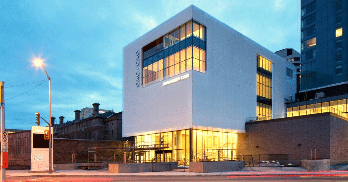 Ottawa Art Gallery, RAIC, National Urban Design Awards