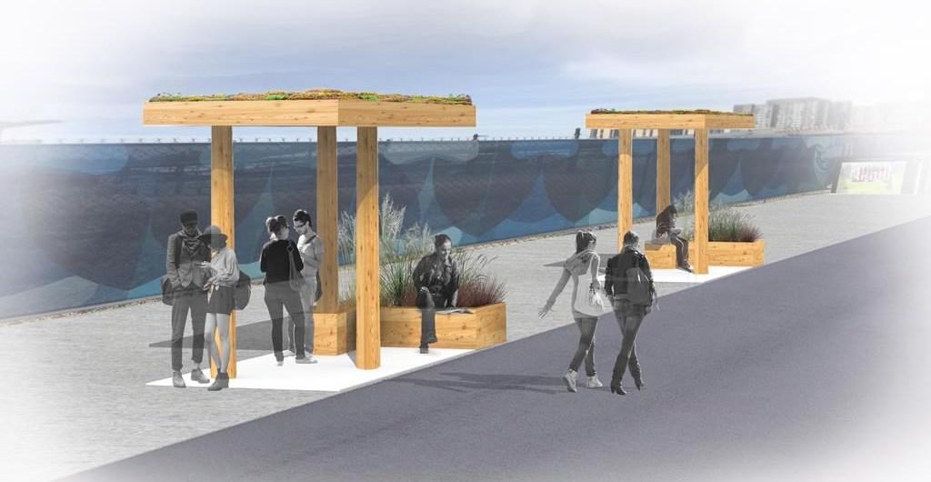 bus shelters UBC
