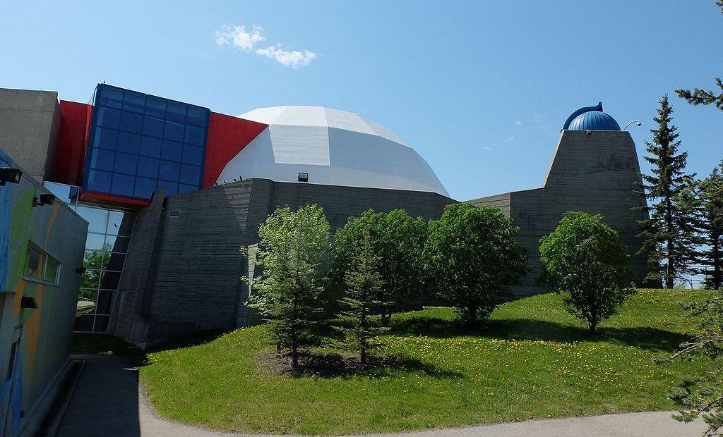 A 2017 view of the former Centennial Planetarium. Photo by Jacob83793 via Wikimedia Commons.