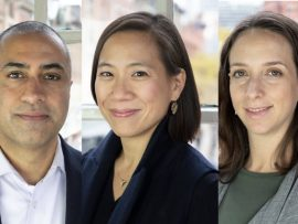 Sony Rai, Shonda Wang, and Liana Bresler (l-r). Images via SvN Architects + Planners