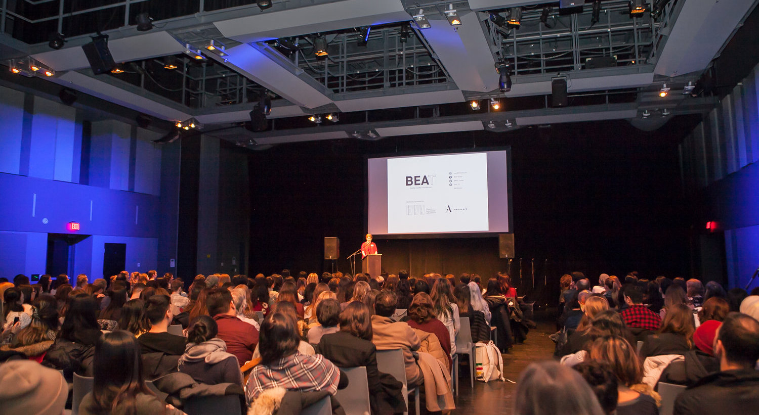 The fifth annual BEAT Leadership Seminar comes to the Toronto Reference Library in March. Photo via BEAT.
