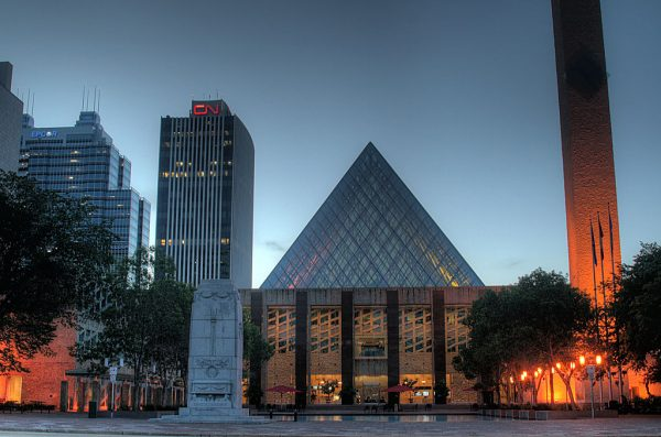 The City of Edmonton is hosting an Infill Design Competition. Photo by WinterE229 via Wikimedia Commons.