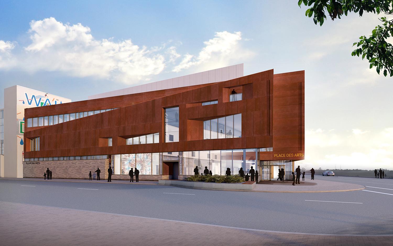 Design unveiled for Sudbury Place des Arts