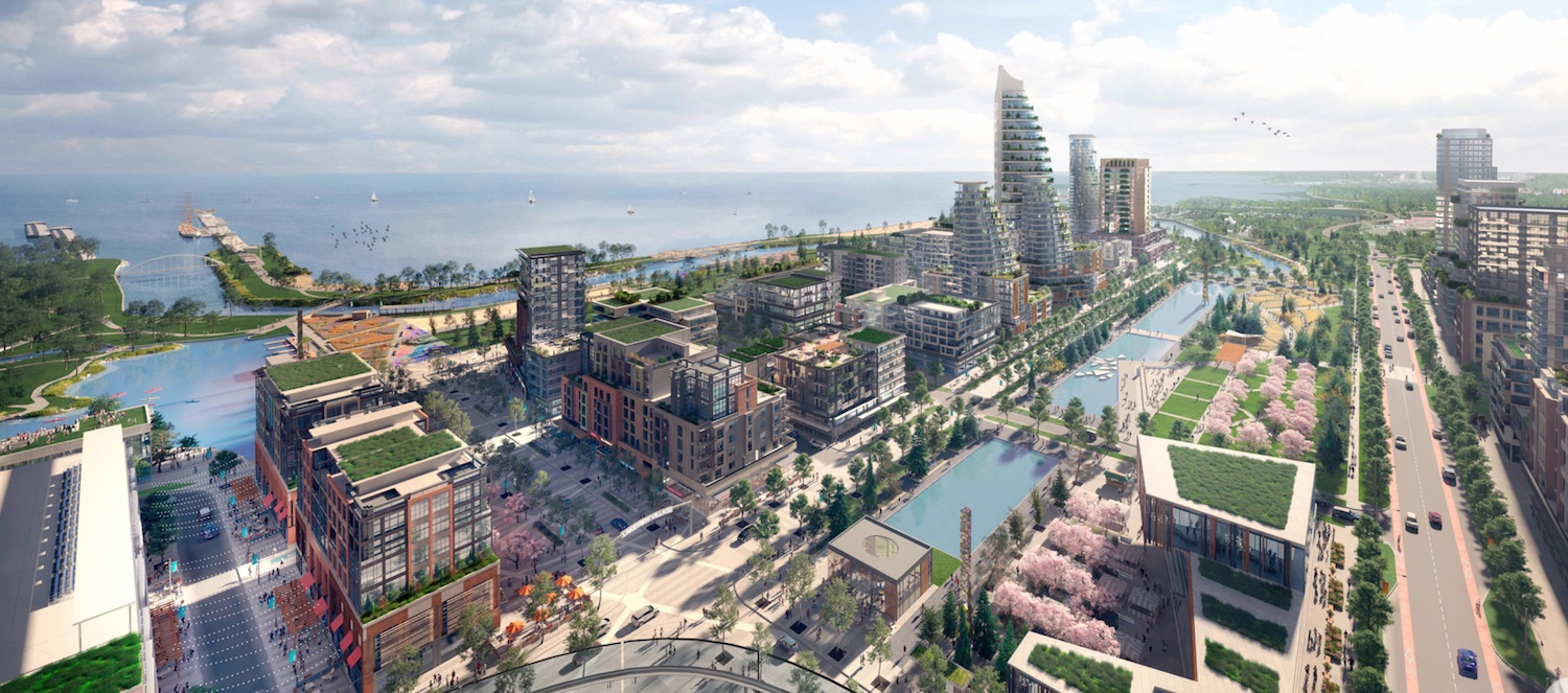 Sasaki to lead 177-acre master plan for sustainable development in Mississauga