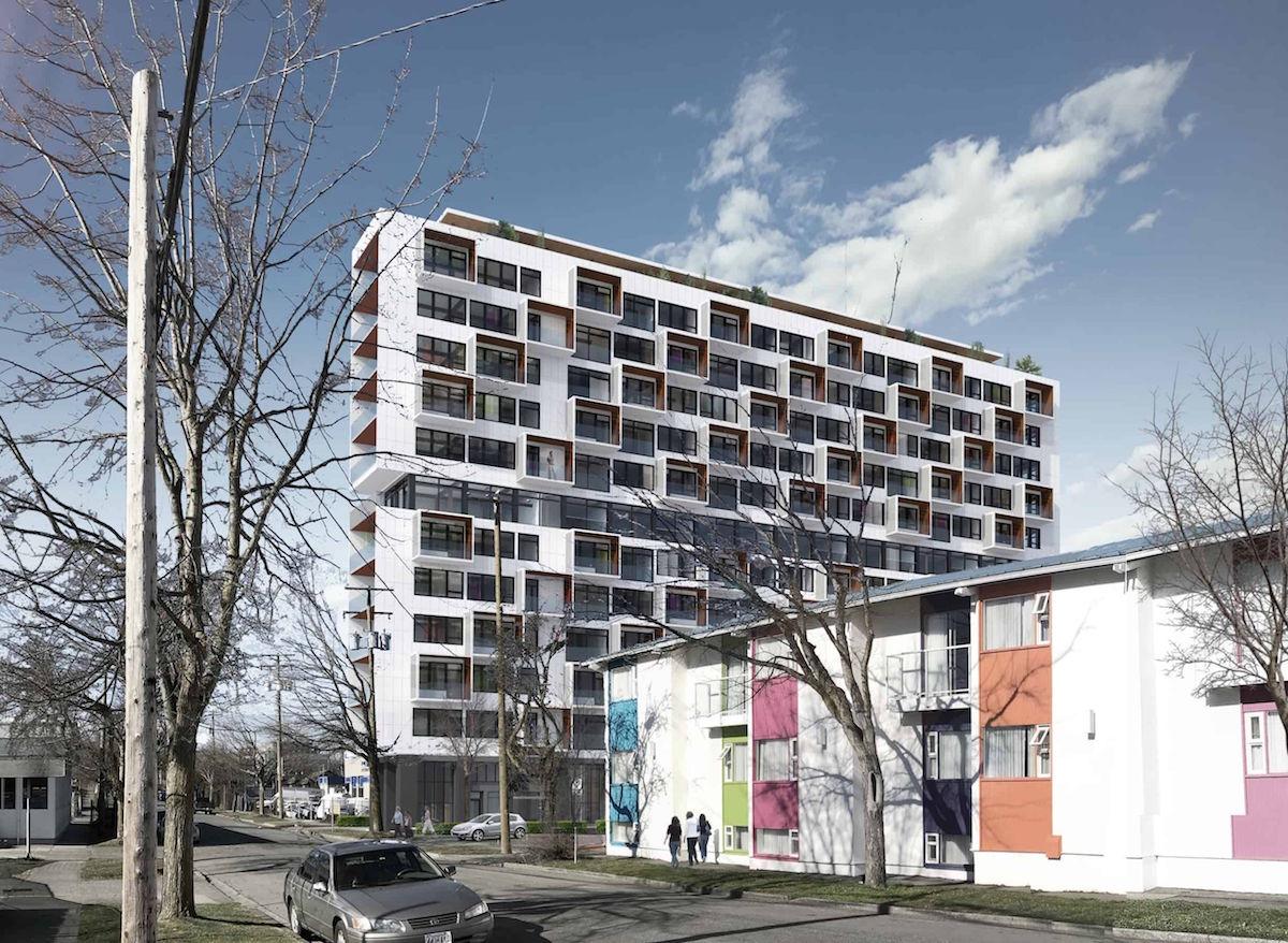 D'Ambrosio Architecture + Urbanism Unveils Twelve Storey Mass Timber Project in Victoria