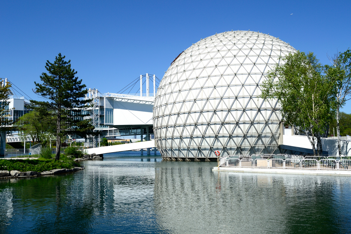 Ontario Place retains heritage elements
