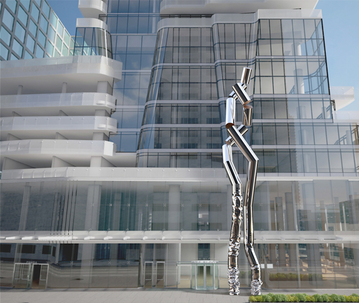 Great Gulf Inaugurates Safe Hands Sculpture at One Bloor
