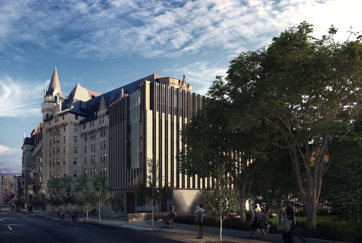 Ottawa City Council Gives Controversial Chateau Laurier Addition Go Ahead