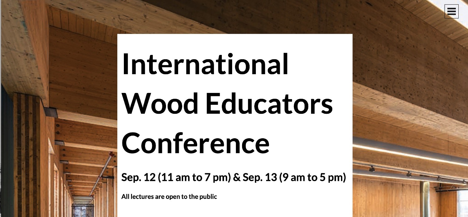 Laurentian University hosts International Wood Educators Conference this Thursday and Friday