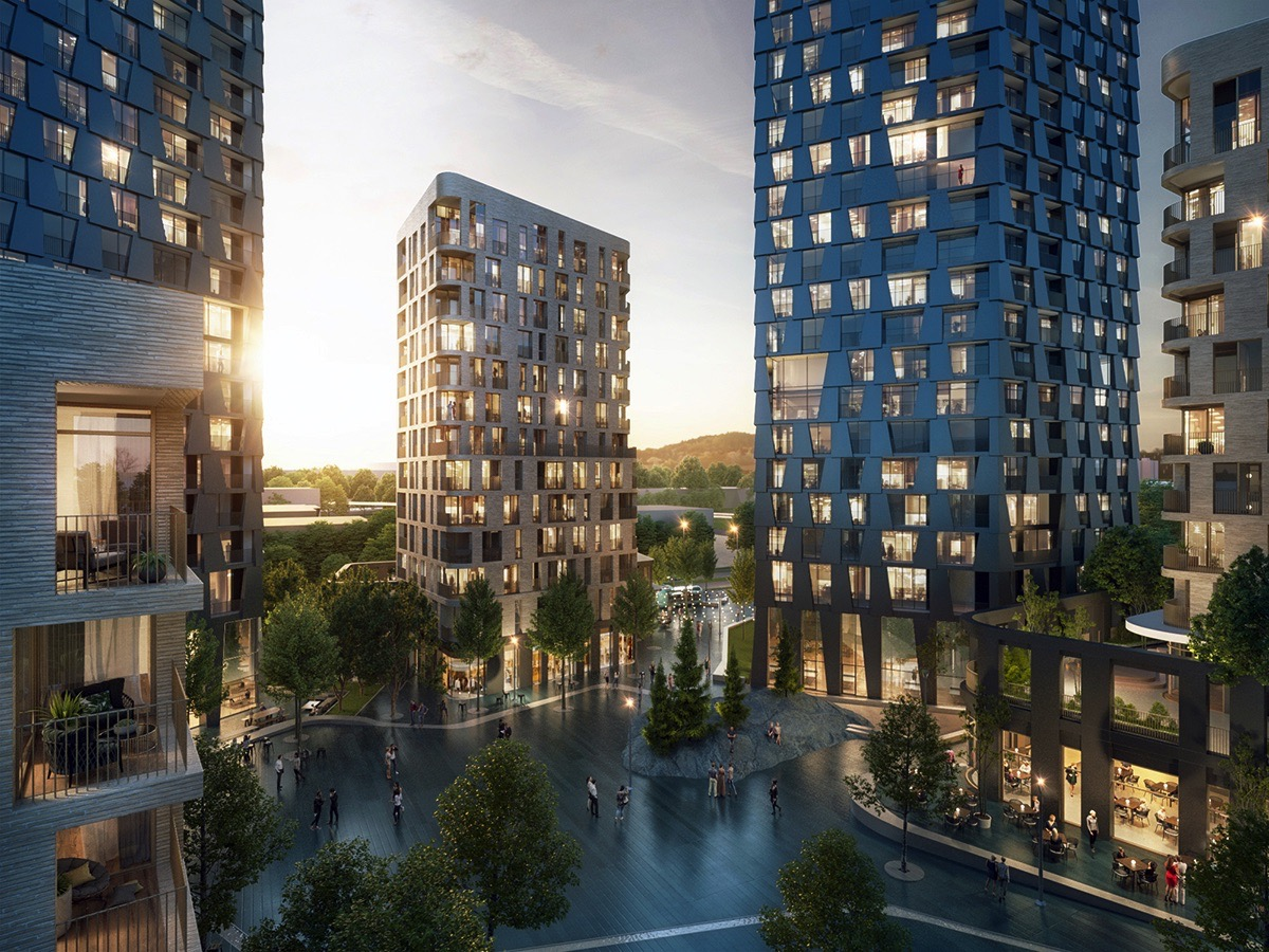 Alison Brooks to construct Surrey high-rise complex