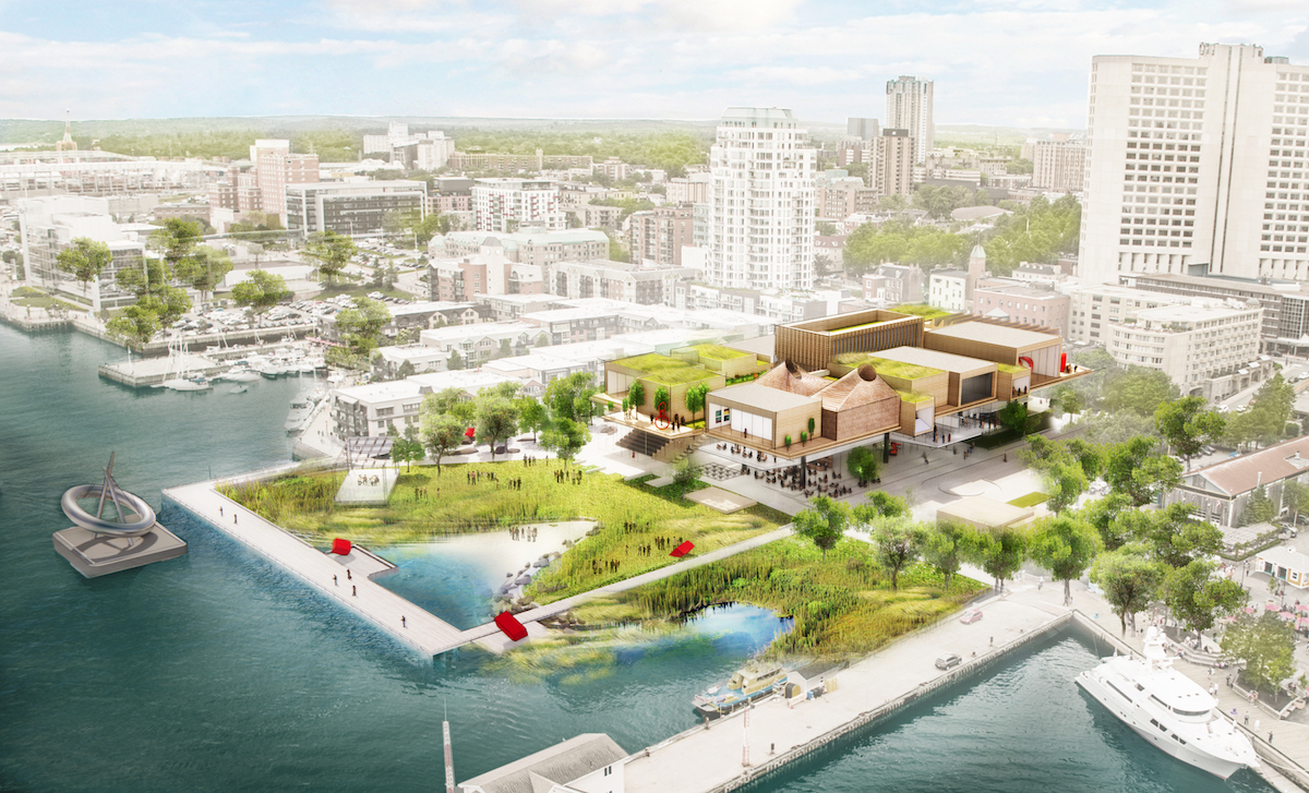 The Art Gallery of Nova Scotia unveils conceptual designs for the new Waterfront arts district
