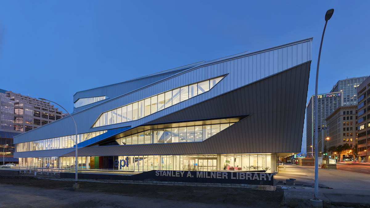 Teeple Architects reimagines the Stanley A. Milner Library