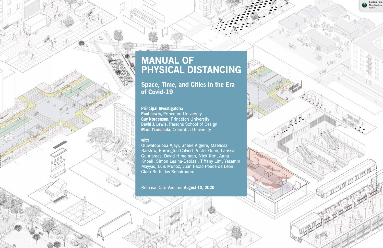 CA Recommends: Manual of Physical Distancing