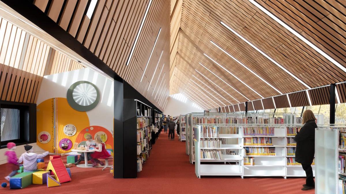 Patkaus win AIA/ALA award for Edmonton library