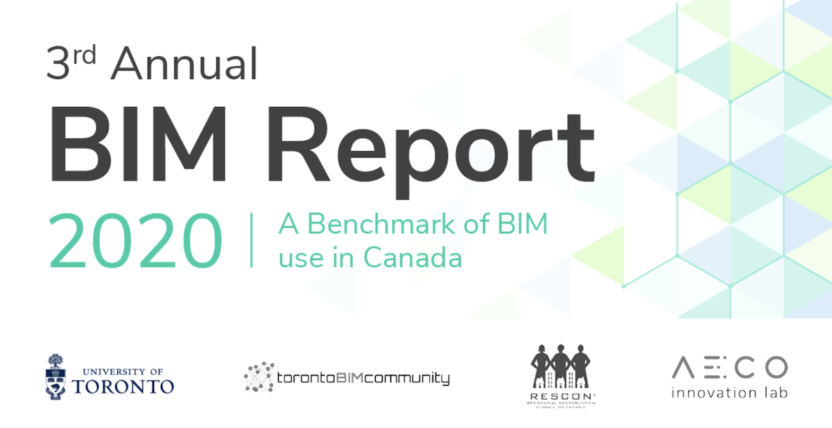 Third annual BIM report sets benchmark for BIM users in Canada