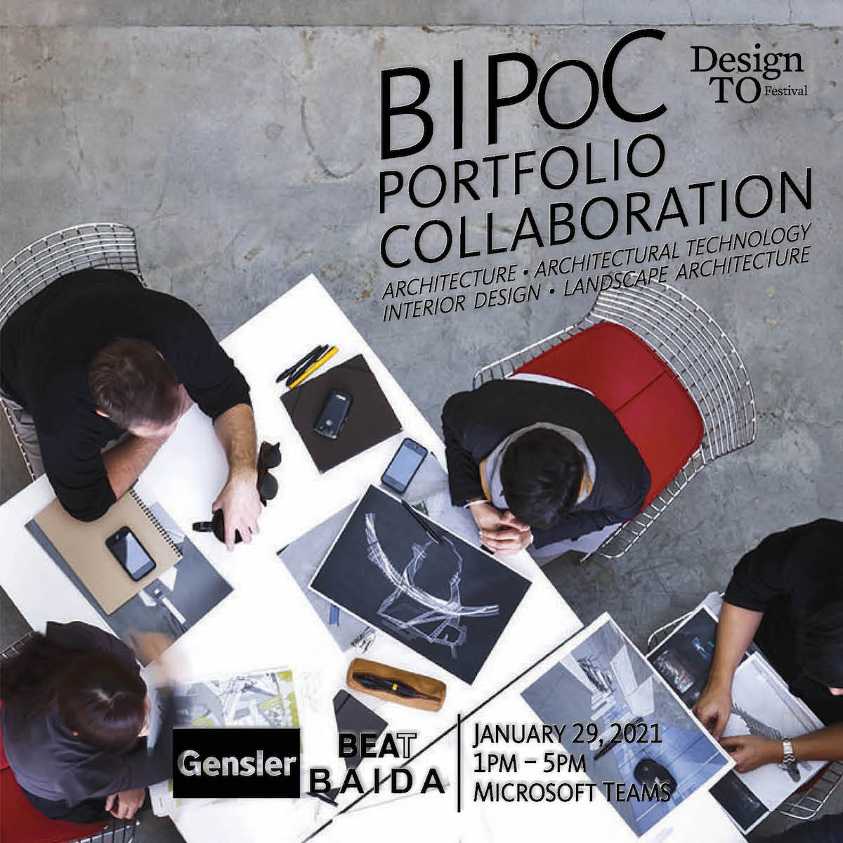 Call for BIPOC design students: free portfolio review