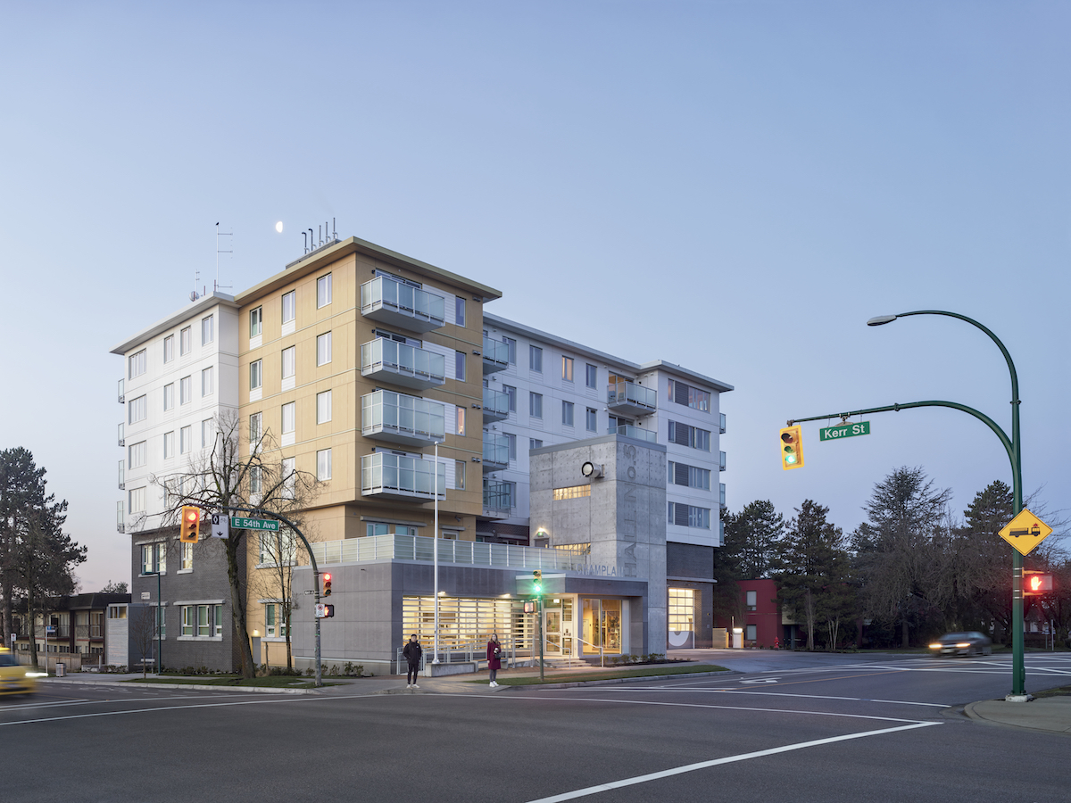 JDA Designs Vancouver's first Fire Hall and housing colocation project