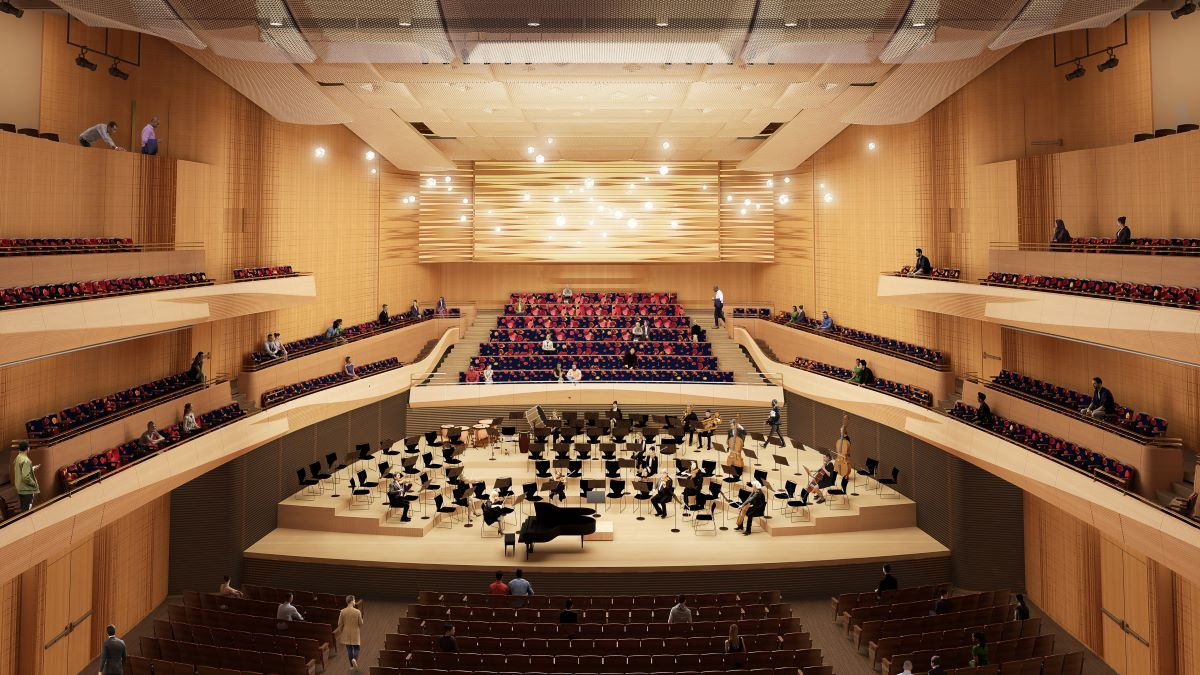 Lincoln Center and New York Philharmonic accelerate renovation of David Geffen Hall