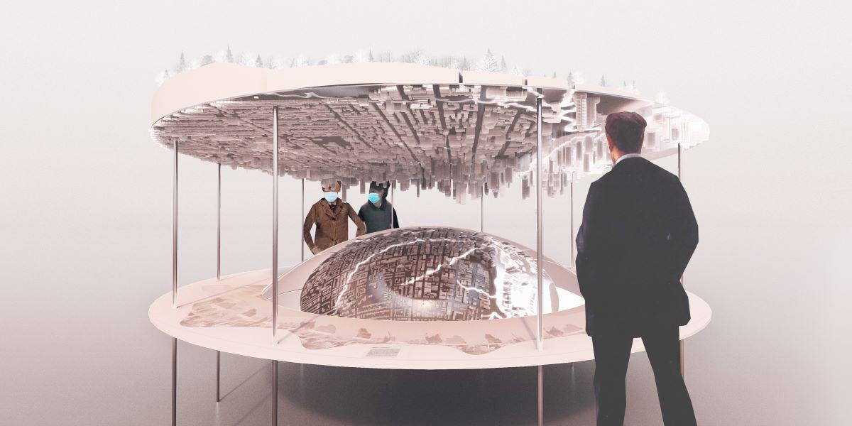 Rivers, Seoul Biennale 2021 installation