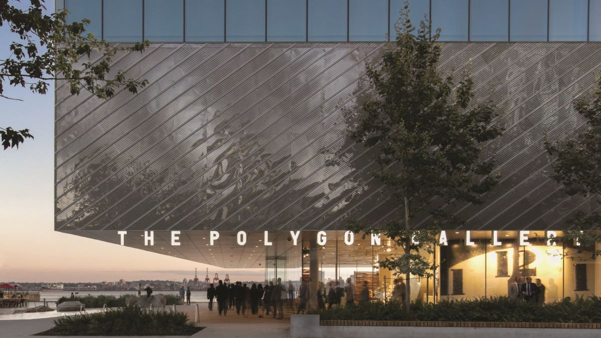 Polygon Gallery receives a 2021 AIA Award for Architecture
