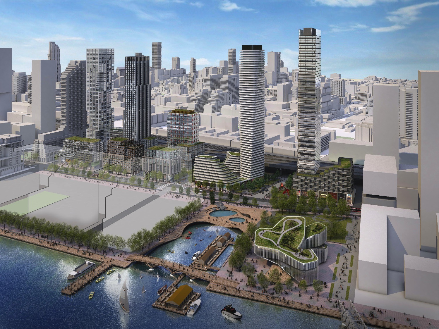 Waterfront Toronto Announces Shortlist of Proponents for the Quayside Development Opportunity