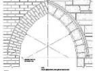 "Gothic Arch detail from the Architectural Graphic Standards CD-ROM. ""The Gothic Arch that I downloaded was a mere shadow of its former self: smooth curves have become faceted"