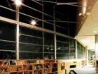 Gateway Boulevard's library was relocated to the centre of the building to act as a public space for large gatherings.