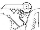 Site plan1.existing school2.cole Allain St-Cyr3.terrace4.main entrance5.school play area6.parking
