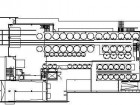 Ground floor1.pedestrian ramp2.viewing platform3.pressing mezzanine4.production catwalks5.bridge6.offices7.V.I.P. lounge & tasting8.boardroom/V.I.P. dining9.V.I.P. terrace10.service court11.crushing area12.pressing area13.fermentation cellar14.bottling15.warehouse16.Great Hall17.retail18.wine bar19.tasting20.tasting terrace21.caf22.riddling & storage sparkling23.finishing cellar24.barrel washing25.wine library26.barrel cellar/cellar dining