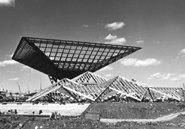 Yolles served as structural engineers for Ashworth Robbie Vaughan and Williams Architects' Canadian Government Pavilion at Expo 67.