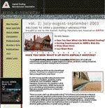 ASPHALT ROOFING MANUFACTURERS ASSOCIATION (ARMA) eNEWSLETTER