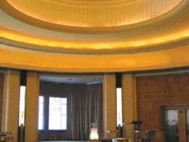 The Round Room in its present state