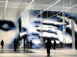 Translucide, an installation at the Palais des congres