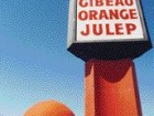 Gibeau Orange Julep's sign boldly announces the iconic orange-shaped building proffering food and drink.