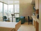 A resident suite is well-appointed and meets the mandate of domesticity and institutional requirements