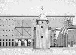 Unpacking ideas canadian architect for Aldo rossi il teatro del mondo