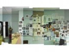 HPA's design annex showing pin-ups of process images, precedent studies, model-making.